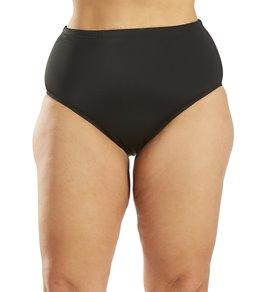 Fit4U Swimwear Plus Size Swim Brief Bottom