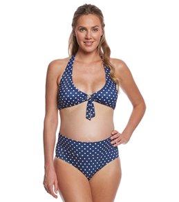 Prego Swimwear Maternity Dot Two Piece Set