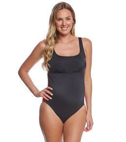 Prego Swimwear Maternity Sport Tank One Piece Swimsuit