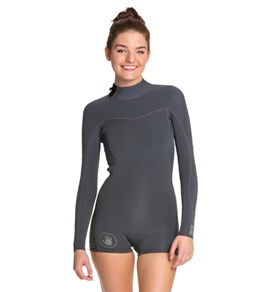 Body Glove Women s Smoothies 2MM Back Zip Long Sleeve Spring Suit Wetsuit 09c2cef68