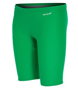 Sporti Solid Compression Jammer Swimsuit Youth (22-28)