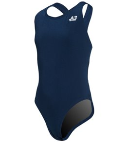A3 Performance Female Youth Sprintback Poly Swimsuit