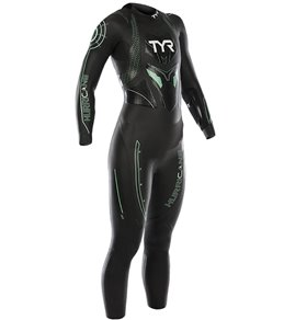 TYR Women's Hurricane Cat 3 Fullsleeve Triathlon Wetsuit
