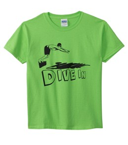 AMBRO Manufacturing Dive In Girls' Tee