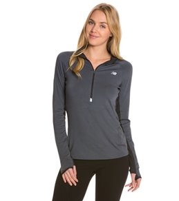 e3cb2f91923e7 New Balance Women's Impact Running Half Zip Top Graphic