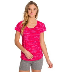 Mountain Hardwear Women's Wicked Electric Short Sleeve Running Tee