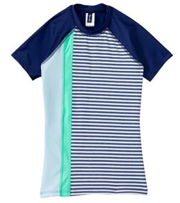 Splendid Girls' Blues Too S/S Surf Shirt