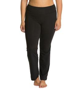 Marika Plus Size Flat Waist Yoga Pants