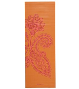 Gaiam Paisley Flower Yoga Mat 68 3mm