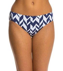 Jag Swimwear Maldives Stripe Reversible Retro Bikini Bottom
