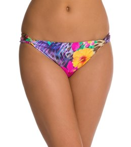 Nanette Lepore Playa Tropical Vamp Banded Side Bikini Bottoms