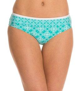 Laundry By Shelli Segal Anacapri Bay Basic Ruched Hipster Bikini Bottom