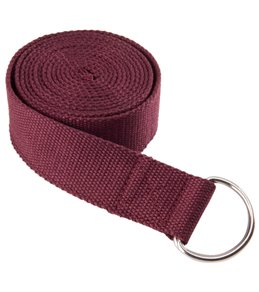 Everyday Yoga 8 Foot Yoga Strap D-Ring
