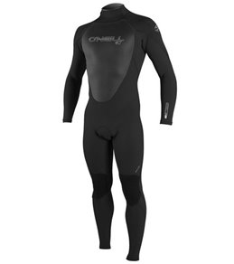 O'Neill Men's 4/3MM Epic Back Zip Fullsuit Wetsuit