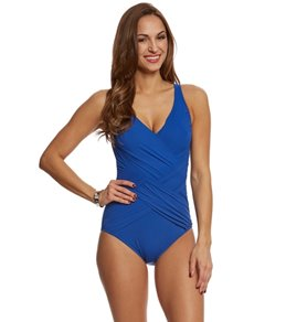 87e49361fbe34 Missy Surplice One Piece Swimsuits at SwimOutlet.com