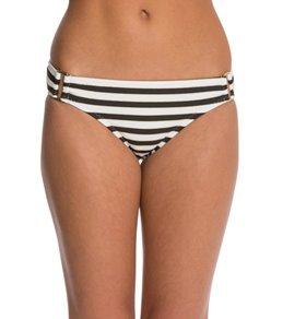 Red Carter Tropical Ladder Square Hardware Hipster Bikini Bottom