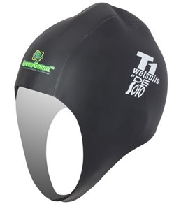 DeSoto GreenGoma Rubber Swim Cap