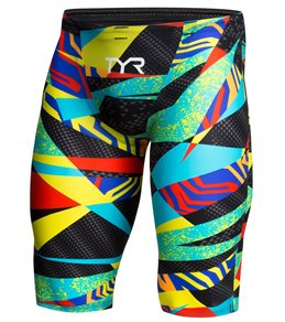 티어 맨 수영복 실내용 5부 TYR Avictor Prelude Male High Short Jammer Tech Suit Swimsuit