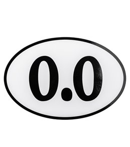 Bay Six 0.0 Oval Magnet
