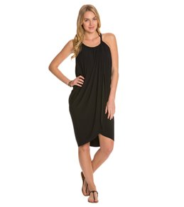 387109533b7e4 Magicsuit by Miraclesuit Solid Draped Cover Up Dress