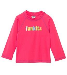 Funkita Still Pink Long Sleeved Rashguard (1-8)