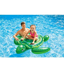 Intex Lil' Sea Turtle Ride-On Pool Float