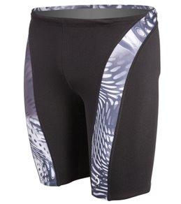 Illusions Activewear Enter Galactica Men's Splice Jammer Swimsuit