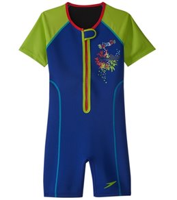 Speedo Boys' UPF 50+ Thermal Suit (2T-10)