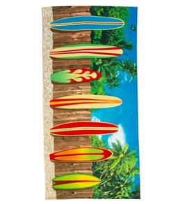 Dohler Surf Board Beach Towel 30 x 60