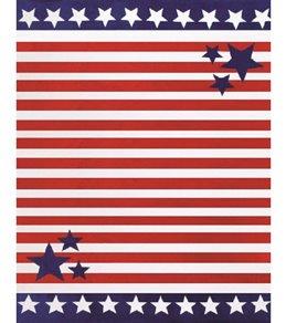Dohler Stars & Stripes Towel for Two Beach Blanket 58 x 74