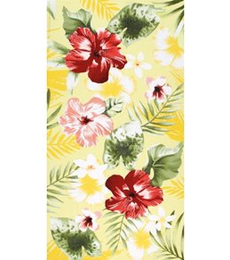 Dohler Tropical Flower Medley Beach Towel 34 x 64