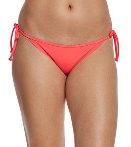 Eidon Swimwear Solid Tiki Tie Side Bikini Bottom