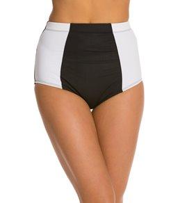 Kingdom & State Bombshell Colorblock High Waist Bikini Bottom