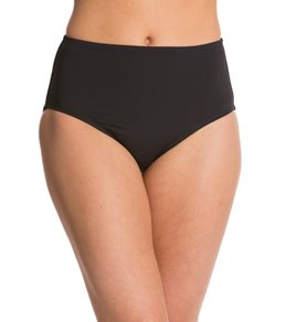 Anne Cole Color Blast Solids High Waist Bikini Bottom