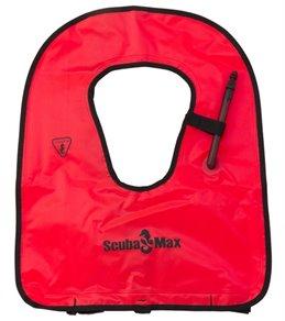 ScubaMax Orange Adult Snorkeling Vest