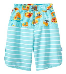 iPlay Boys' Safari Mix 'N Match Ultimate Swim Diaper Panel Boardshorts (3mos-4yrs)