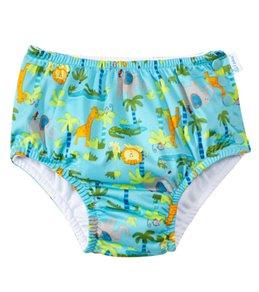 iPlay Boys' Turtle Classics Ultimate Snap Swim Diaper (3mos-4yrs)