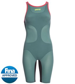 Arena Powerskin Carbon Air Full Body Short Leg Open Back Tech Suit Swimsuit
