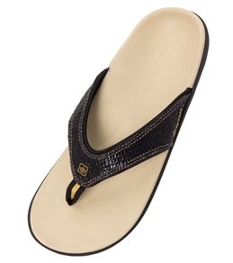 Spenco Women's Yumi Snake Flip Flop