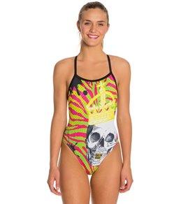 HARDCORESPORT Women's Royalty X-Back One Piece Swimsuit