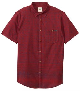Rusty Men's Solaris Short Sleeve Shirt