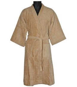 Royal Comfort 48 Bath Robe Terry Velour Kimono