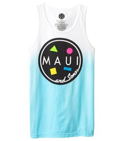 Maui and Sons Men's Classic Cookie Tank