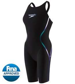 c5bed23c45 Speedo Women's LZR Racer X Open Back Kneeskin Tech Suit Swimsuit