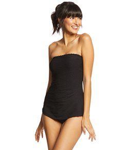 Gottex Essence Sarong Bandeau One Piece Swimsuit