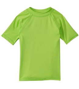 Sunshine Zone Girls' Solid S/S Rashguard (2T-4T)