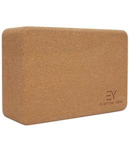 Everyday Yoga 3 Inch Cork Yoga Block 526d635cca