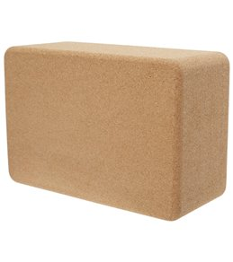Everyday Yoga 4 Inch Cork Yoga Block