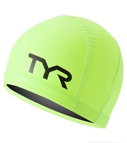 TYR Junior HI-VIS Warmwear Active Swim Cap