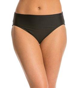Eco Swim Solid High Class Bikini Bottom